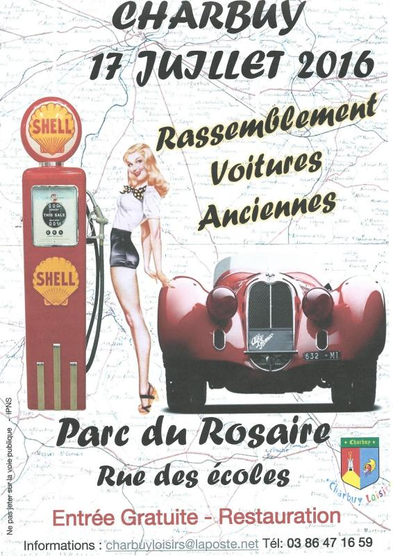 Affiche voitures anciennes